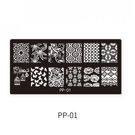 Matrita metalica model PP-01
