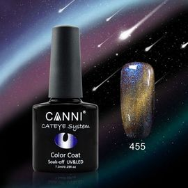 Oja Semipermanenta CANNI CAMELEON-CAT EYES 7,3ml-455