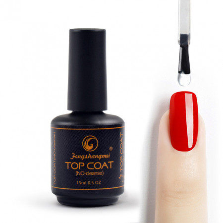 Top Coat FSM Fara Degresare 15ml (original cu stanta pe fundul sticlutei)