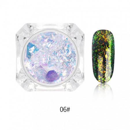 Decor transparent chameleon i001-06