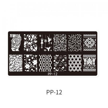 Matrita metalica model PP-12