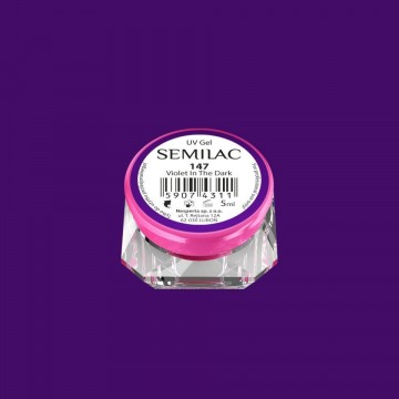 Poze Gel UV Color Semilac-Violet In The Dark 147