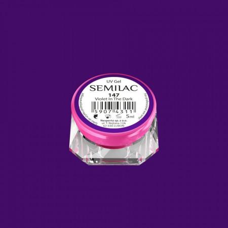 Gel UV Color Semilac-Violet In The Dark 147