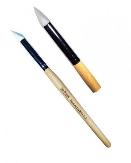 Pensula Nail Art cu Varf de Silicon nr 2