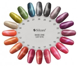 Gel UV Color Base One Silcare Cat Eye Magnetic Pantera 15