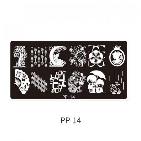 Matrita metalica model PP-14