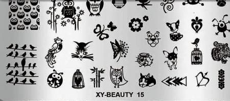 Matrita metalica model XY-Beauty-15