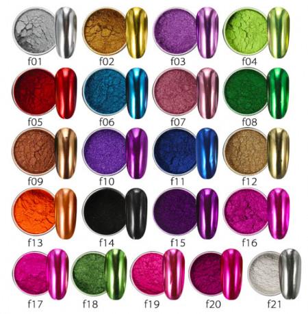 Pigment oglinda metalic F21