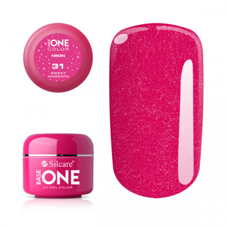 Gel UV Color Base One Silcare Sweet Magenta 31