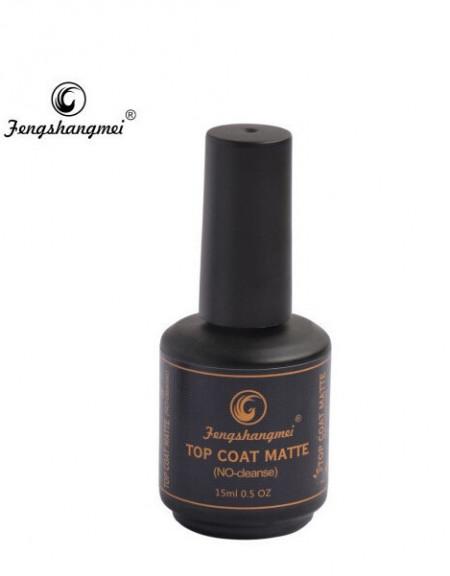 Top Coat FSM Matt 15ml (produs original cu stanta pe fundul sticlutei)