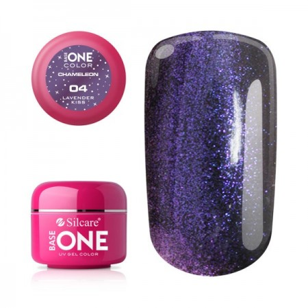 Gel UV Color Base One 5g Cameleon -04 Lavender-Kiss