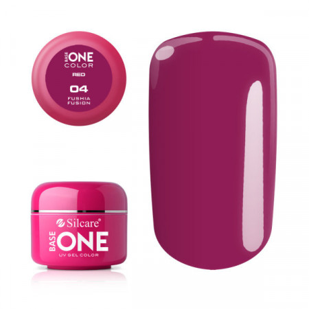 Gel UV Color Base One 5g Red Fushia Fusion 04