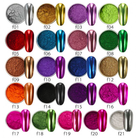 Pigment oglinda metalic F20