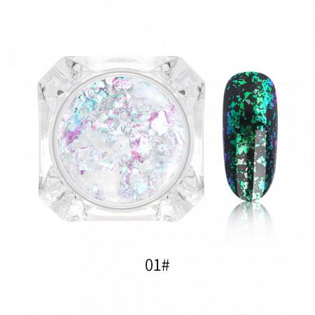 Decor transparent chameleon i001-01