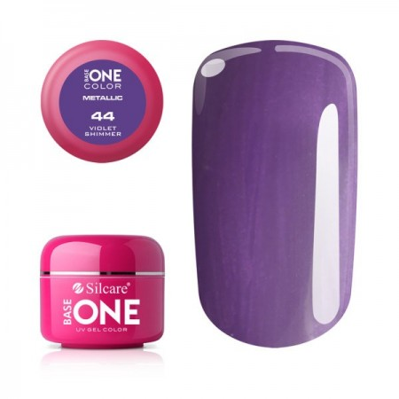 Gel UV Color Base One 5g Metalic Violet Shimmer 44
