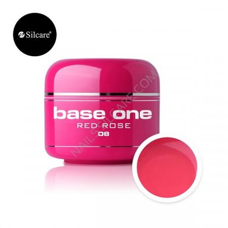 Gel UV Color Base One 5g Red Rose 08