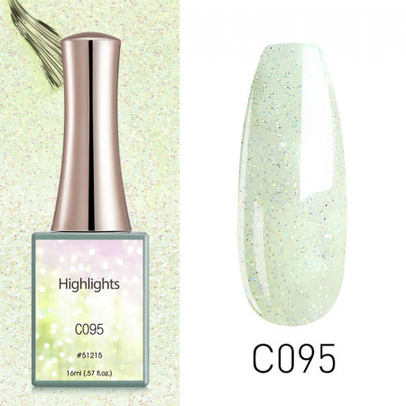 Oja Semipermanenta CANNI HIGHT LIGHT 16ml C095