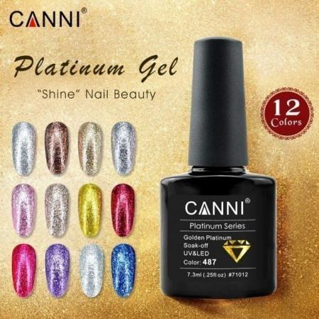 Oja Semipermanenta CANNI Platinum 491