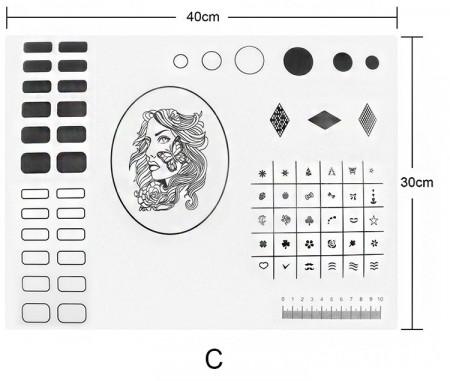 Pad de silicon pentru practica model C