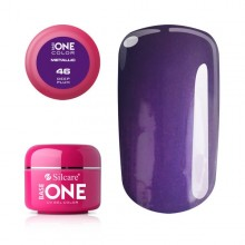 Gel UV Color Base One 5g Metalic Deep Plum 46