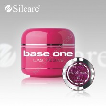 Gel uv Color  Base One Silcare Las Vegas Flamingo 08