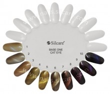 Gel UV Color Base One Silcare Cat Eye Magnetic Maine Conn 14