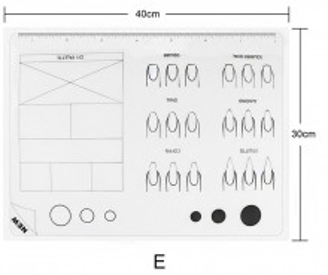 Pad de silicon pentru practica model E