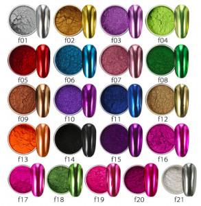 Pigment oglinda metalic F18