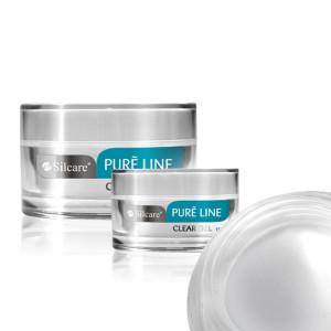 Gel UV Constructie Silcare Pure Line Clear-Transparent 15g