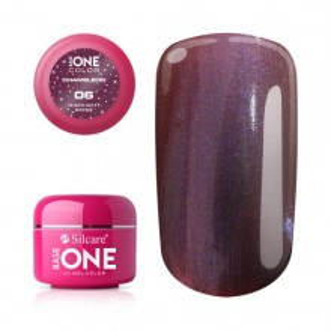 Gel UV Color Base One 5g Cameleon Midnight Rose 06