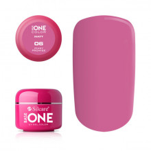 Gel uv Color Base One Silcare Matt Pink Promise 06