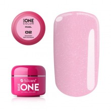 Gel uv Color Base One Silcare Pixel Candy Shimmer 02