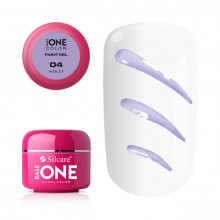 Gel UV Color Base One Silcare Paint Violet 04