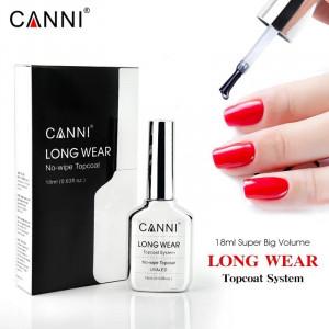 Top Coat Canni Long Wear Fara Degresare - 18 ml