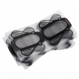 Pachet 100 Sabloane pentru constructie unghii Plastifiate PVC