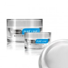 Gel UV  Silcare Pure Line Bianco Extremo 15g