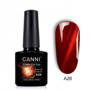 Oja Semipermanenta CANNI 3D Flame Cat Eyes A26