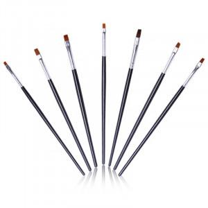 Set 7 pensule manere lungi negre -WM04215