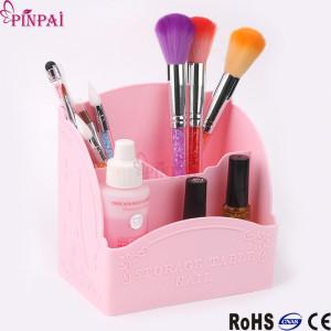 Suport pile-pensule dreptunghiular roz