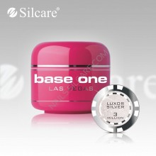Gel uv Color  Base One Silcare Las Vegas Luxor Silver 03