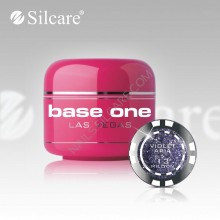 Gel uv Color  Base One Silcare Las Vegas Violet Aria 13