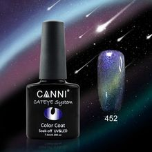 Oja Semipermanenta CANNI CAMELEON-CAT EYES 7,3ml-452