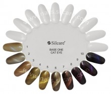 Gel UV Color Base One Silcare Cat Eye Magnetic Lygrys 19