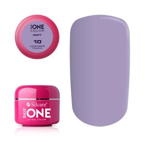 Gel uv Color Base One Silcare Matt Lavender Touch 10