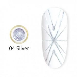 Gel UV Spider CANNI 04 Silver