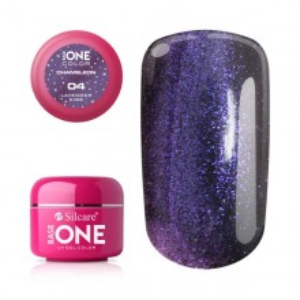 Gel UV Color Base One 5g Cameleon -04 Lavender-Kiss
