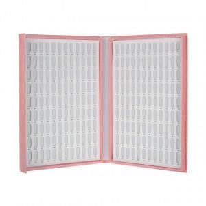Catalog de prezentare mare roz 216 pozitii (tipsuri incluse)