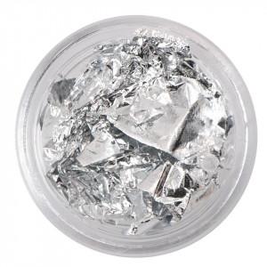 Foita creponata Argintie