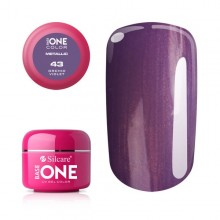 Gel UV Color Base One 5g Metalic Orchid Violet 43