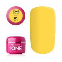 Gel uv Color Base One Silcare Matt Banana Split 01